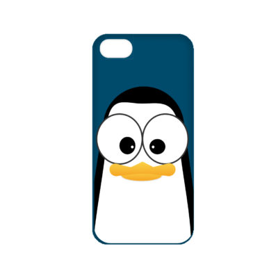 Crazy Pinguins iPhone 8 Case by Andre Martin