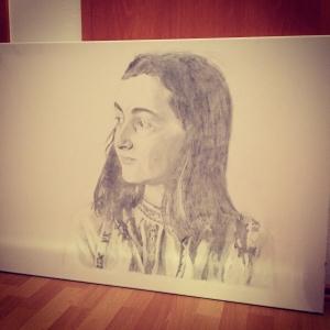 Anne Frank Drawing by Andre MartinInstagram @andre.martin13Twitter @jamesyorkmusicSwitzerland / Zurich  / Las Vegas / New York / Spain / Valencia / Andre / Martin / Zürich